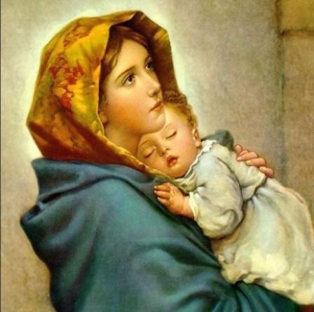 Nossa Senhora com Jesus no colo - maior